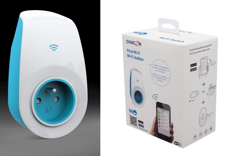 Chacon d voile neo la prise connect e et commandable - Prise connectee wifi ...