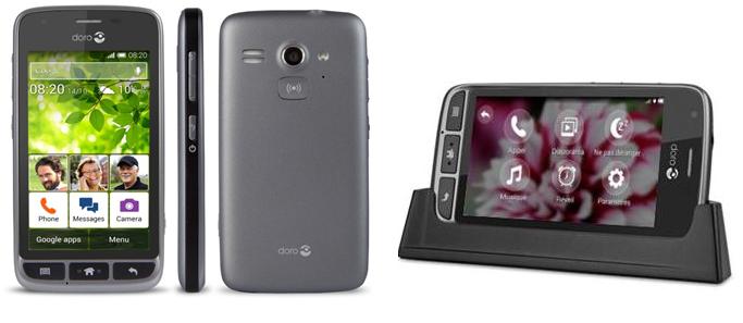 Nouveau smartphone chez DORO