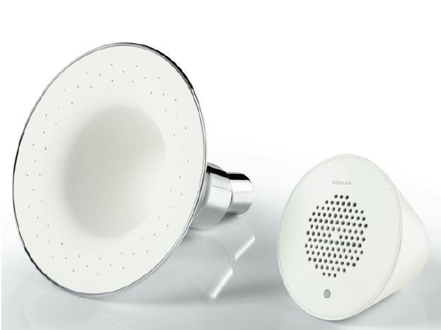 Bien tre coutez la musique sous la douche a la - Douche high tech ...