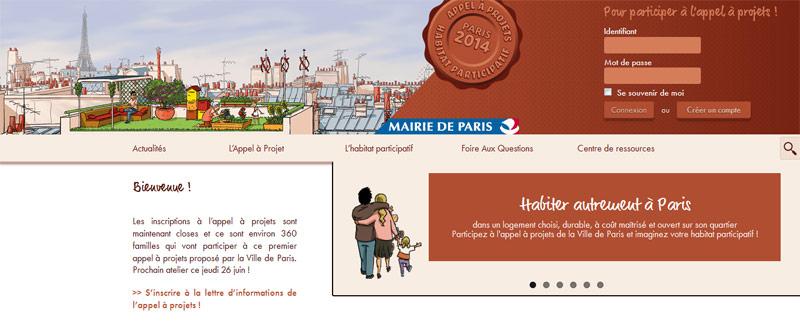 Habitat participatif à PARIS