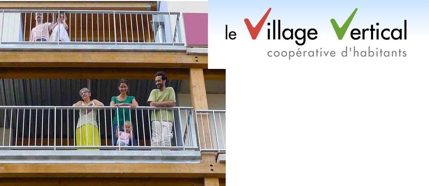 Le Village Vertical : un bel exemple d'habitat participatif