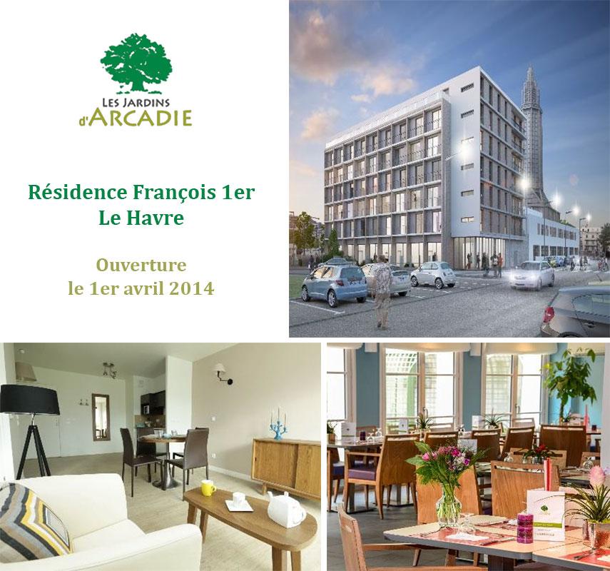 Les Jardins D Arcadie Ouvrent La 1ere Residence Services Seniors Du Havre