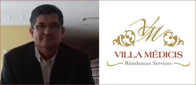 Nicolas Kauffer, vient lui aussi d'intégrer la résidence services VILLA MEDICIS de Puteaux en tant que directeur.