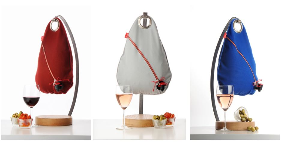 Obag' : une créatrice parisienne habille le vin !