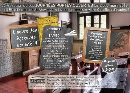 La Résidence Senior de Saint Brevin Les Pins organise début Mars des journées Portes Ouvertes