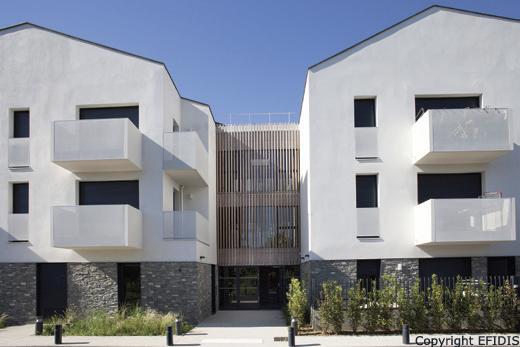 Une Résidence Senior à Courcouronnes qui propose des 53 logements locatifs sociaux PLS, PLUS et PLAI