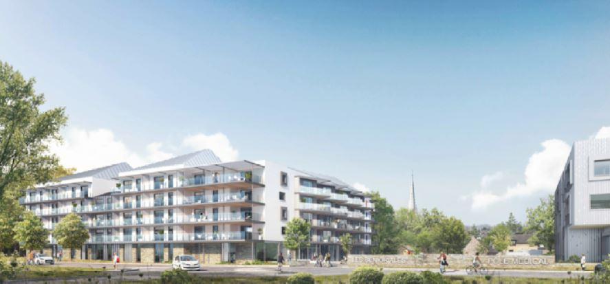 La future résidence senior Les Senioriales de Cesson-Sévigné (près de Rennes) vendue en bloc