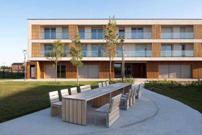 Un ensemble de 72 logements à destination des seniors comprenant des appartements et des pavillons à Bétheny