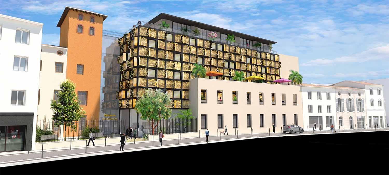 Le groupe Duval et la Mairie d'Agen annonce un nouveau projet de résidence services pour Senior rue Montesquieu