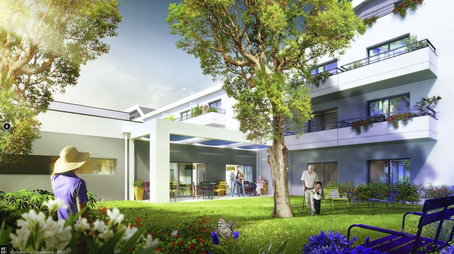 Une nouvelle résidence services pour Seniors à Trélazé