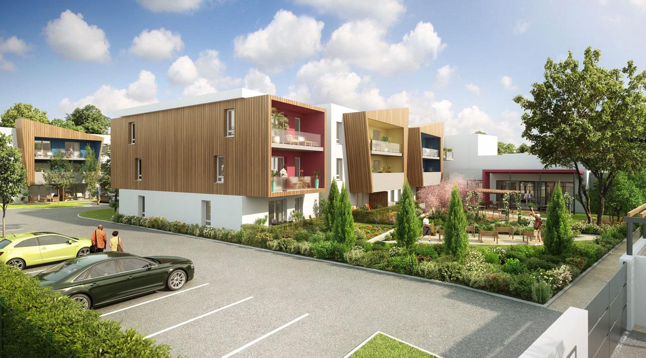 bassin d 39 arcachon le teich investir dans un appartement en r sidence senior. Black Bedroom Furniture Sets. Home Design Ideas