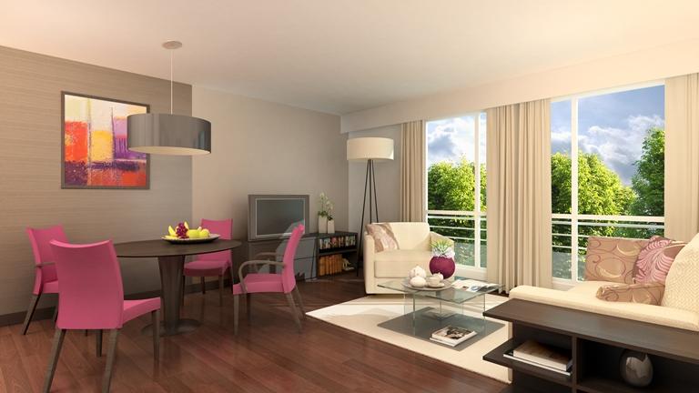 Location D Un Studio A Sevres Au Sein D Une Residence Services Pour