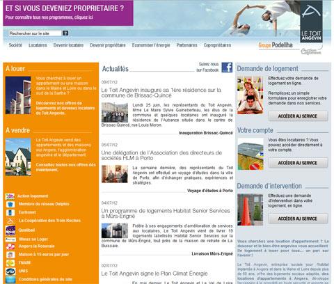 Le Toit Angevin prévoit 70 logements adaptés aux Seniors pour l'année 2012