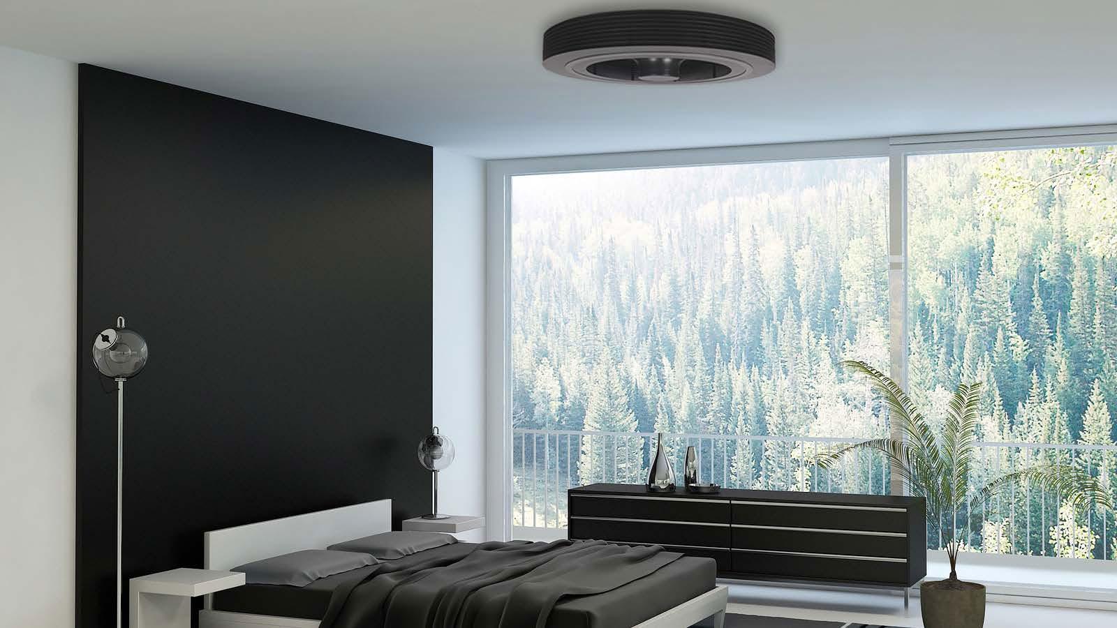 Seniors, connaissez vous le concept de ventilateur sans pales qui se fixe au plafond?