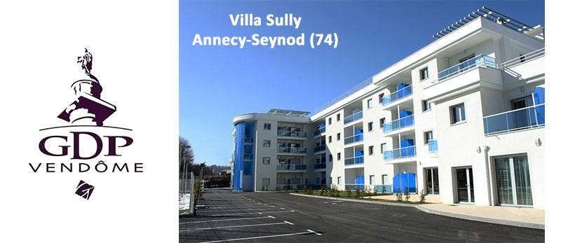 Le pôle de santé Villa Sully du groupe GDP Vendôme