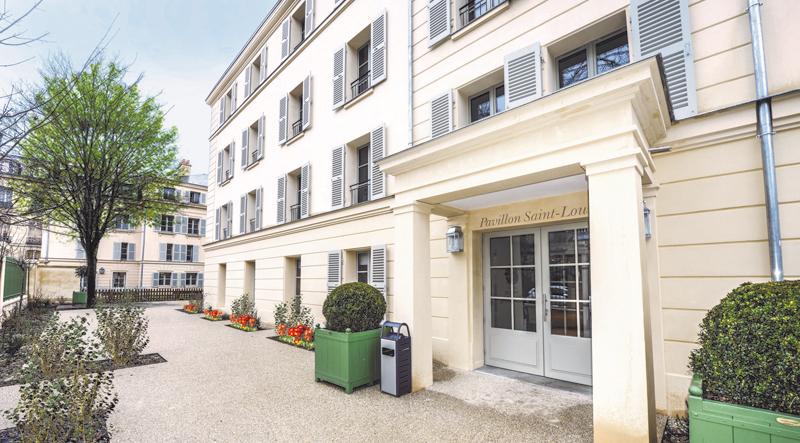 R sidence les jardins d 39 arcadie de versailles 78000 for Architecte jardin versailles
