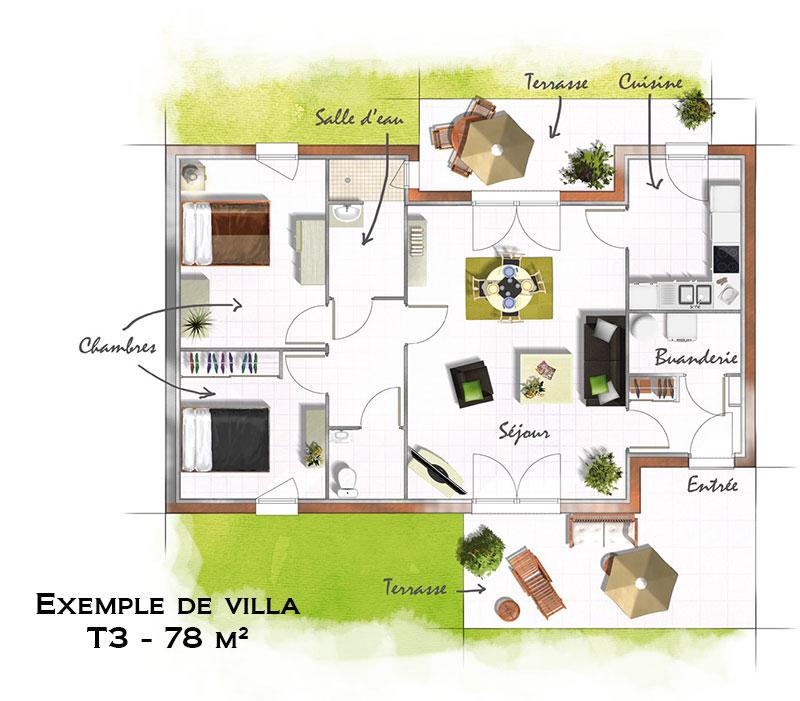 Villa Plain Pied Saint Jean De Vedas