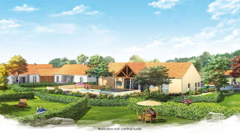 village de bracieux investir dans la derni re villa t4 d 39 une r sidence services seniors. Black Bedroom Furniture Sets. Home Design Ideas