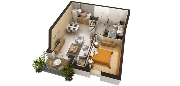 R sidence domitys le carillon d 39 or 59600 maubeuge r sidence service - Location appartement senior ...
