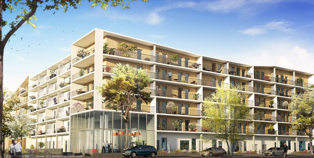 R sidence domitys le mill sime 33300 bordeaux for Residence bordeaux