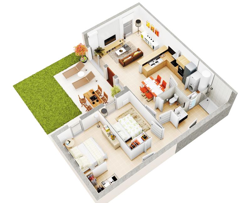 r sidence les senioriales de pollestres 66450 pollestres r sidence service s nior. Black Bedroom Furniture Sets. Home Design Ideas