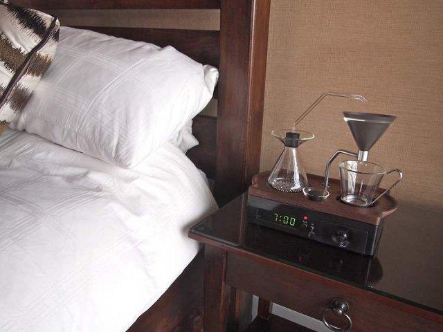 The Barisieur, le réveil-machine à café