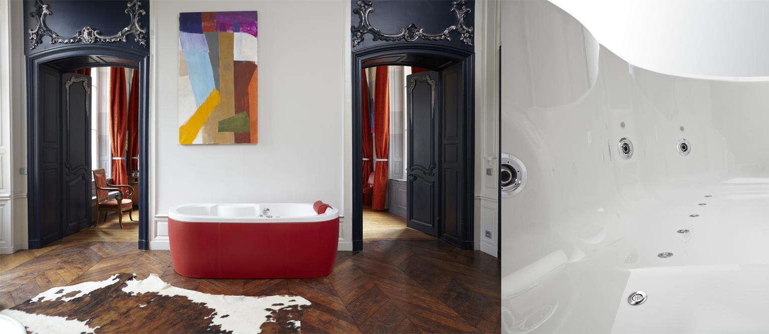 Condor Paris propose une gamme de baignoires ergonomiques et design
