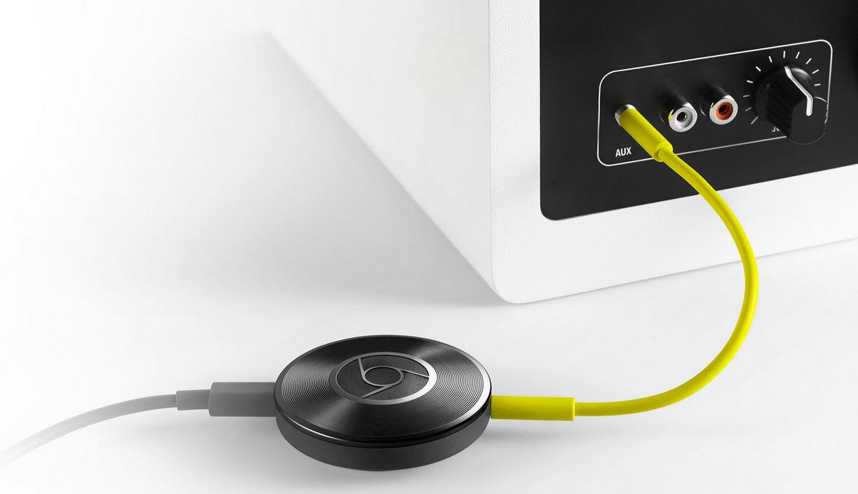 Clé Chromecast Audio ou comment redonner vie à bonne vielle chaine hifi qui délivre un super bon son!