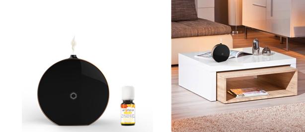 Zenitude, un diffuseur d'huile essentielle connecté
