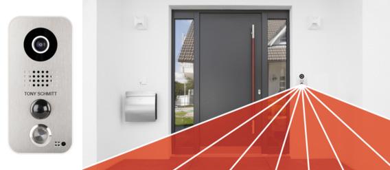 Doorbird, plus qu'une serrure connectée : Un portier électronique  de votre habitation piloté à distance
