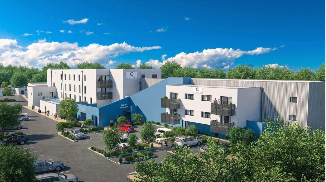 Libourne, deux nouvelles structures dédiées aux Senior, un EHPAD de 65 lits et une résidence services de 20 appartements.